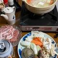 鶏胸肉&豚こま肉☆1人しゃぶしゃぶ鍋〜と、500缶1箱
