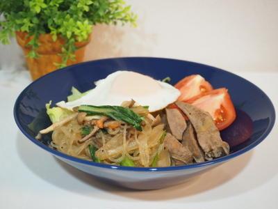 >【レシピ】おうちで簡単韓国料理☆チャプチェサラダ by らびっとさん