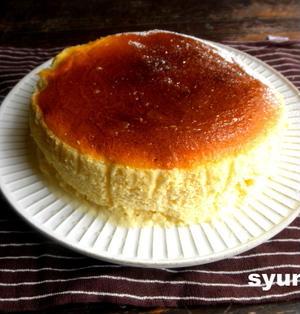 半熟スフレチーズケーキ*