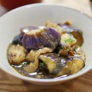 【レシピ・動画】簡単・あんかけ・ピリ辛「ナスのめんつゆ煮」小ねぎ、しょうがポイント