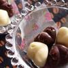 型抜きだから簡単☆バニラの香りの生チョコ♪ホワイト&ブラック
