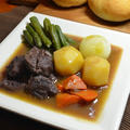 ブールマニエで、減塩牛スネ肉の赤ワイン煮込み♬ by haru-hanaさん