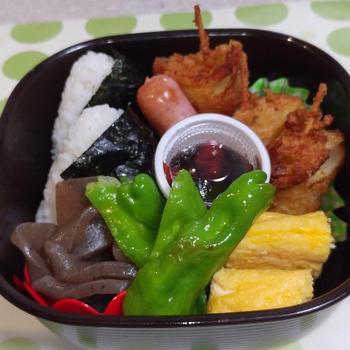 串カツ弁当