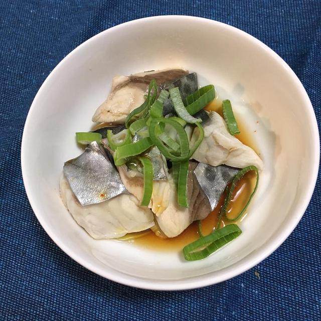 【サワラ・鰆・さわら】居酒屋メニューを家庭でも食べたい「ネギポン酢」