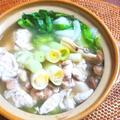 秋鮭の白子鍋