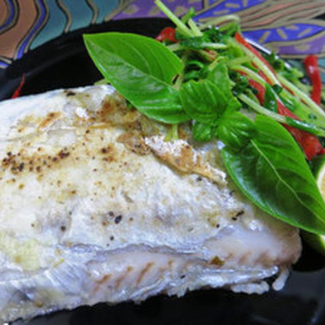 太刀魚のハーブ焼き