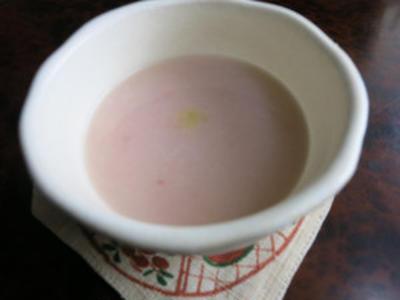 紅麹米入り甘酒