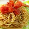 絶品!ボウルで混ぜるだけ♪「トマトの冷製パスタ」 by ATSUKO KANZAKI (a-ko)さん