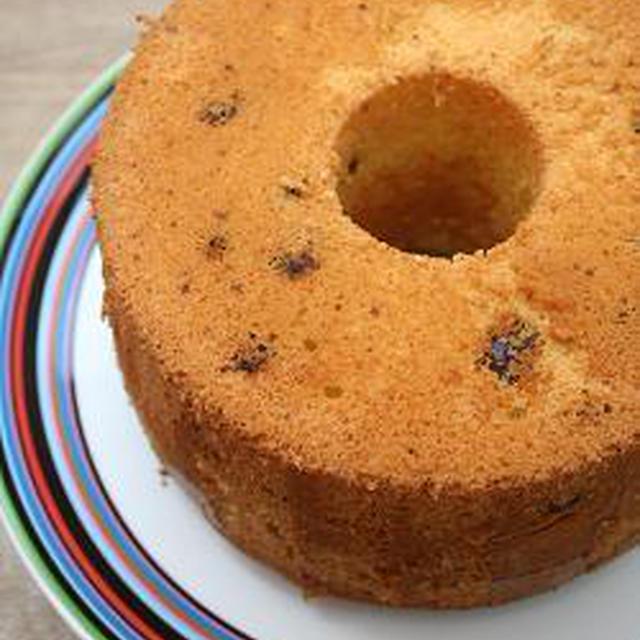 クランベリーシフォンケーキ