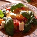 <キリ クリームチーズとろけるトマトソースのスパゲッティー>レシピブログアワード2018レシピ&フォトコンテスト♡