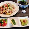 リクエストの空豆と若芽のさっと煮と淡竹の季節ごはん♪~♪