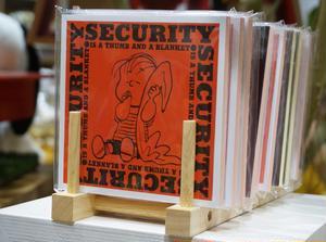 ■「アートブックノート」680円(税抜)<br><br>「ピーナッツ」コミックから選りすぐりのアート...
