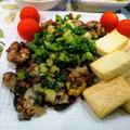 また調子が悪い ~ でもタックスリターンほぼ完了 ~ 牡蠣と豆腐ソテーのネギ塩だれ