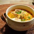 *暑さに負けるな!豚肉とキムチのスープ* by みーやんさん