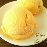 かぼちゃのアイスクリーム