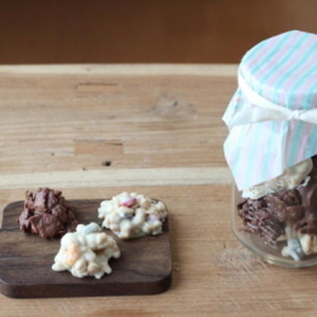 ウーマンエキサイト連載公開!「義理チョコにも!簡単&リーズナブルなチョコクランチの作り方」