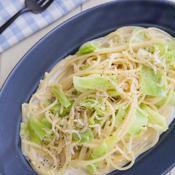 フライパンで簡単!柚子胡椒の和風クリームパスタ