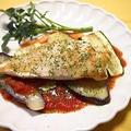 HOTトマトソースで鶏ソテー野菜添え by とまとママさん