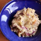 カルダモン香る サツマイモのミルク煮