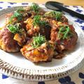 【発酵食品で免疫力アップ‼︎】作り置き☆豚こま豆腐のキムチ照り焼き♡レシピ