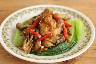 簡単・炒めもの♪牡蛎と舞茸のオイスター炒め(工程写真あり)