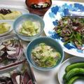 産直、新鮮野菜で夕食!