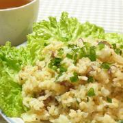 白菜と豚こまのピリ辛マヨ炒飯☆