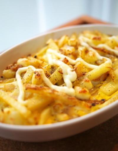 ジャガイモのオープンオーブンオムレツ