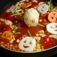 ☆とろけるオバケのトマト鍋☆