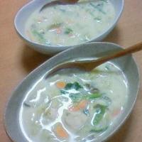 モニター☆ハウスのしょうがを使って豆乳味噌スープ☆