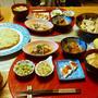 小一時間できゃべたまと高野豆腐と小鉢6品で、おおよそ和な晩酌