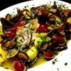 サフランで真鯛とジャガイモのアクアパッツァ