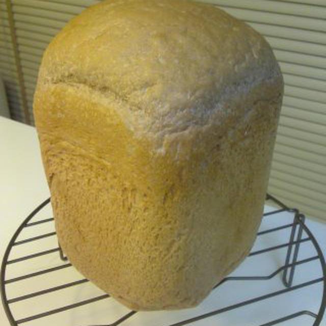 レシピもっちりココア生クリーム食パン