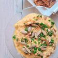 ハロウイーンパーティーにいかが?冷凍豆腐とカボチャで簡単フムス【PBWF/プラントベース/グルテンフリー】