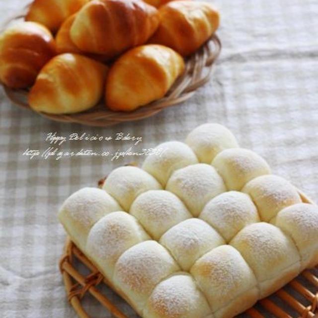 お土産パンのロールパンと白パン♪