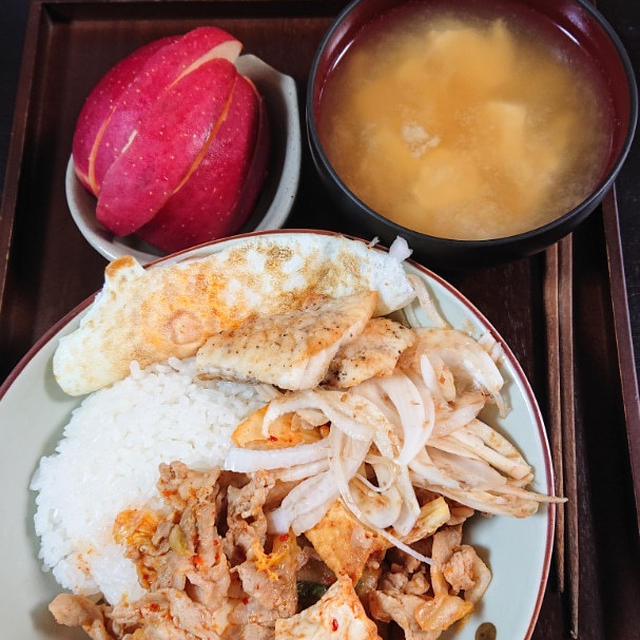 朝ごはんと押し寿司と夕飯