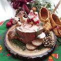 Stump de Noel/クリスマス切り株ケーキ☆クリスマスケーキ2018 by ルシッカさん