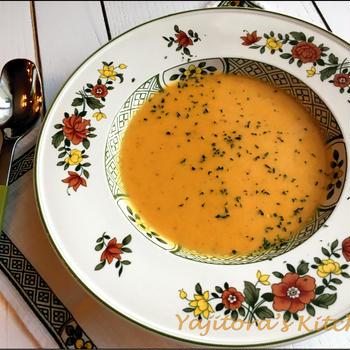 つくれぽ300件目前、人参のポタージュスープ