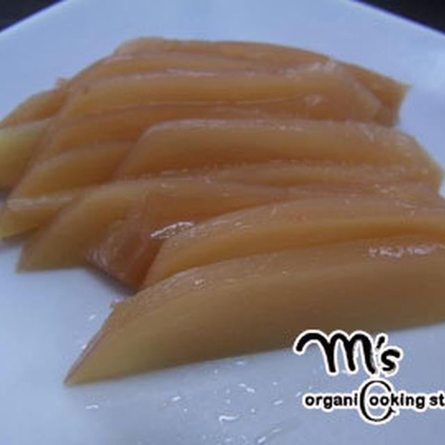新しょうがの甘酢漬け☆マクロビレシピ