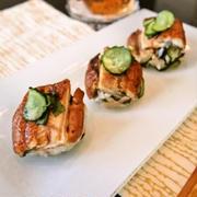 丑の日にうなぎの手まり寿司 by 清水えりさん