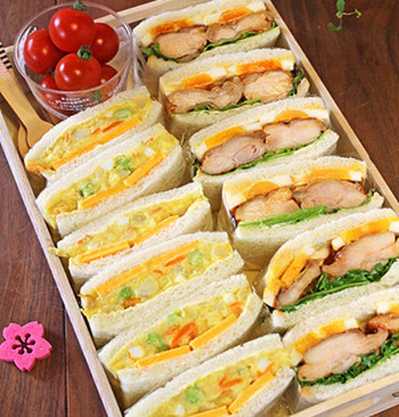 春のピクニックに持っていきたい!人気お弁当レシピ