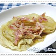 ◆ 2.21 焼き白菜♪ 昨日のカーリング感動しちゃいました^^