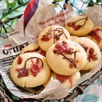 春を感じる♡桜チーズミルククッキー