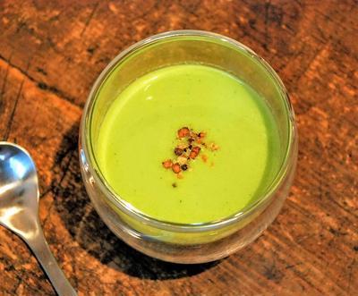 冷製サマーグリーンスープ