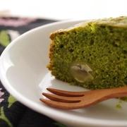 抹茶と塩麹のパウンドケーキ