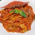 本格濃厚!『渡り蟹のトマトクリームパスタ』旨味を堪能♪贅沢レシピ by 自宅料理人ひぃろさん