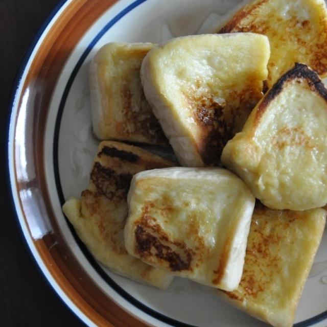 ふんわりフレンチトーストのレシピ。