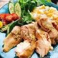 とうもろこしご飯の海南鶏飯(動画有) by Misuzuさん