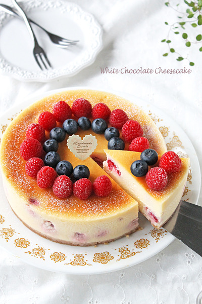 チーズケーキの盛り付けアイデア12選・デコレーションアイデア