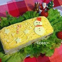 クリスマスパーティーにも♪簡単押し寿司